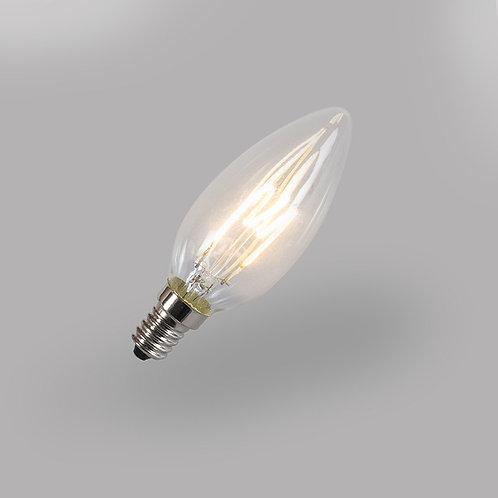 LED C35 2W 2200K