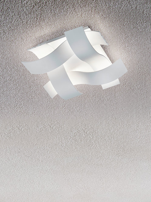 Taklampe hvit - Ruby