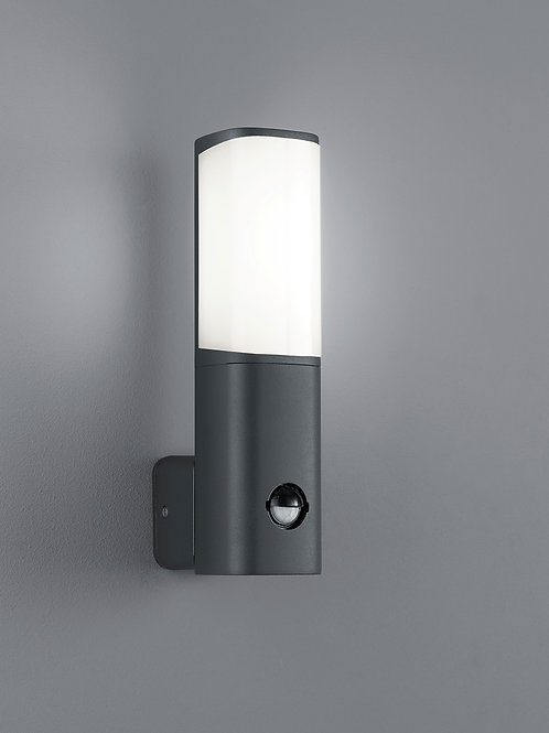 Vegglampe antrasitt med sensor LED - Ticino