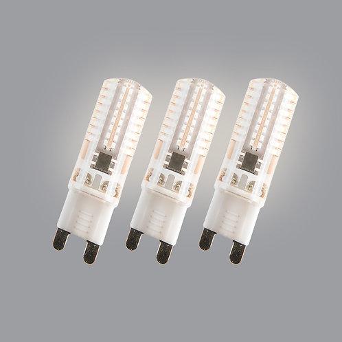G9 LED 3W 200 lumen 3 stk