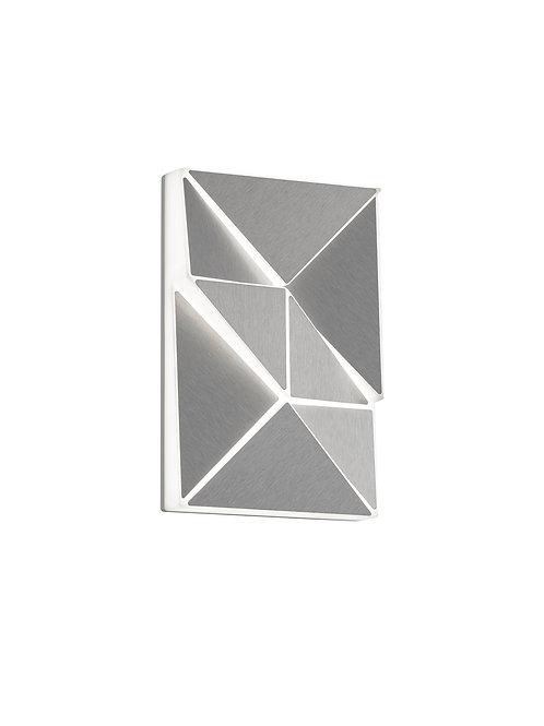 Design vegglampe aluminium - Trinity