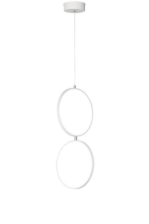 Design hengelampe hvit - Rondo