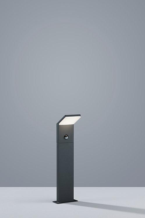 Design utelampe antrasitt med sensor LED - Pearl 50