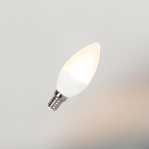 LED C37 E14 3W 3000K