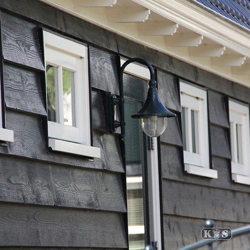 Klassisk vegglampe grønn - Rimini