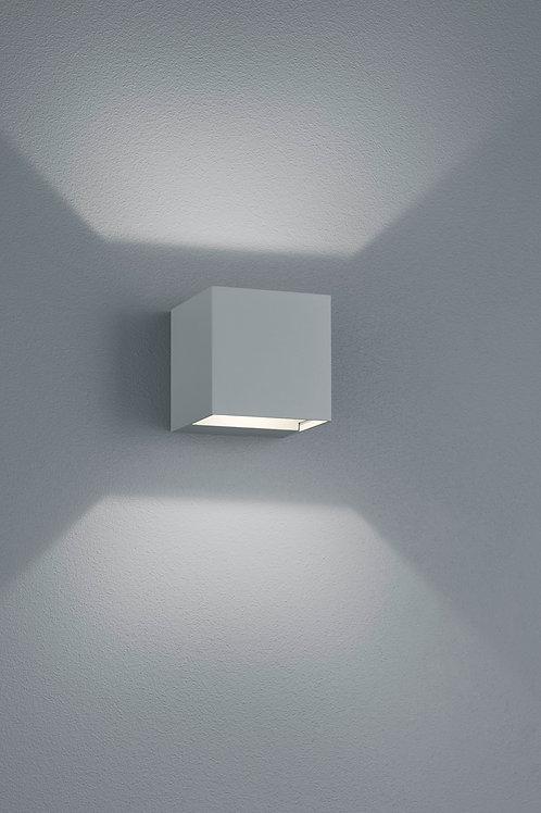 Vegglampe grå LED - Adaja