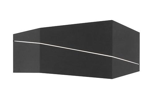 Design vegglampe svart - Zorro II