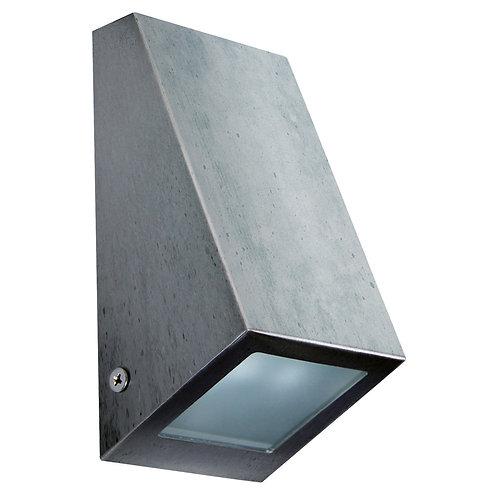 Vegglampe galvanisert - Flå down