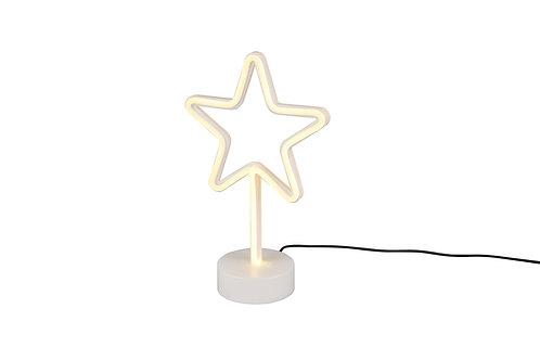 Bordlampe hvit - Star