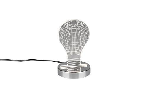 Bordlampe krom - Bulb