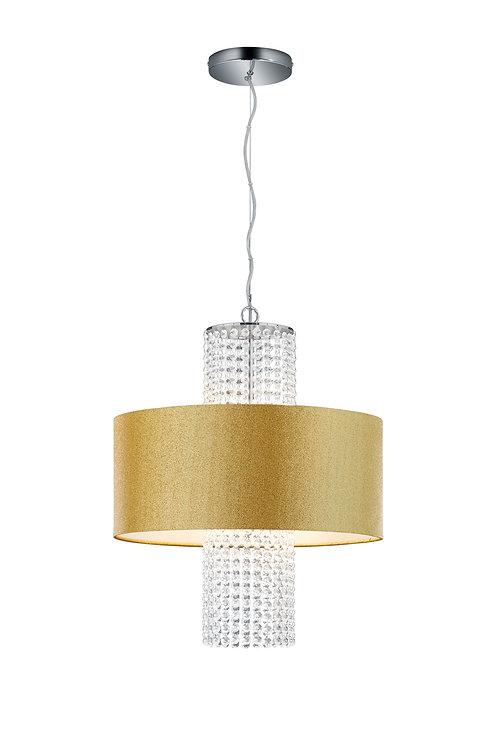 Design hengelampe gull - King II