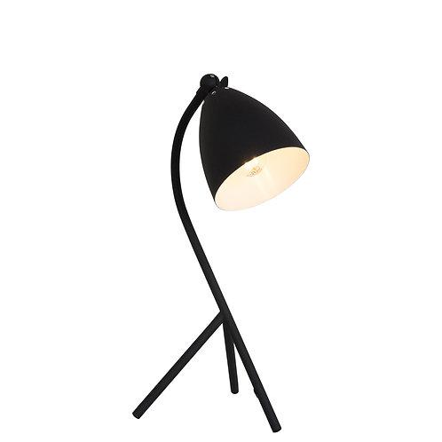 Design bordlampe svart - Elin