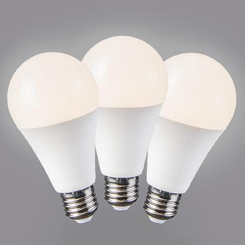 LED 10W E27 B60 WW 3 stk