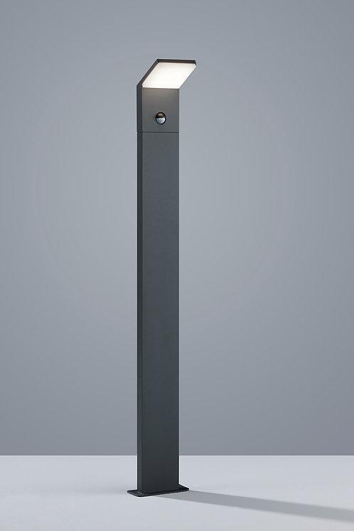 Design utelampe antrasitt med sensor LED - Pearl 100