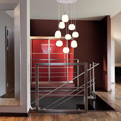 Design taklampe metall LED - Bollique Cluster