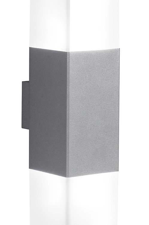 Vegglampe grå - Hudson II