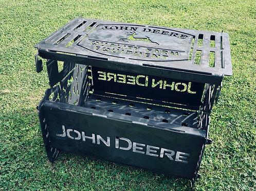 John Deere Style Fire Pit