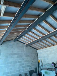 steel beams supplied