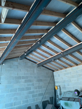 steel beams supplied