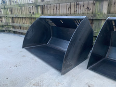 Loader Bucket front view