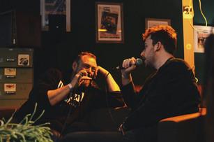 Kratkruipers: Dis Huyghe [Live op Villa Vinyl Hasselt]