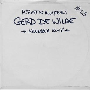 Kratkruipers #13: Gerd De Wilde