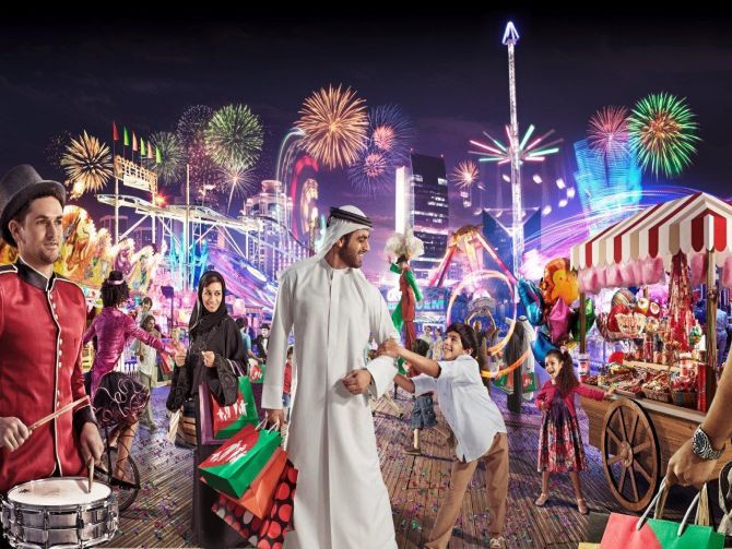 Dubai Shopping Festival: Economic Diversity in the Emirates