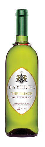 Bayede! The Prince Wine Labels - Sauv Bl