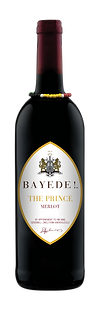 Bayede! The Prince Wine Labels - merlot.