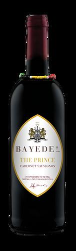 Bayede! The Prince Wine Labels - cab sau