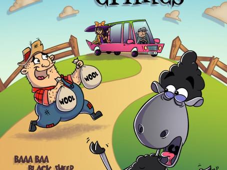 Book review: Nursery Crimes: Case 1 (Baaa Baa Black Sheep – The Fleeced Fleece)