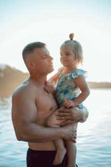 Familie fotograf i Ikast Little Swallow