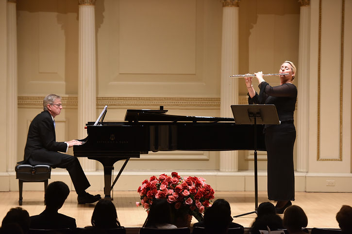 Carnegie Hall New York - American Protégé Winners Concert Mai 2016