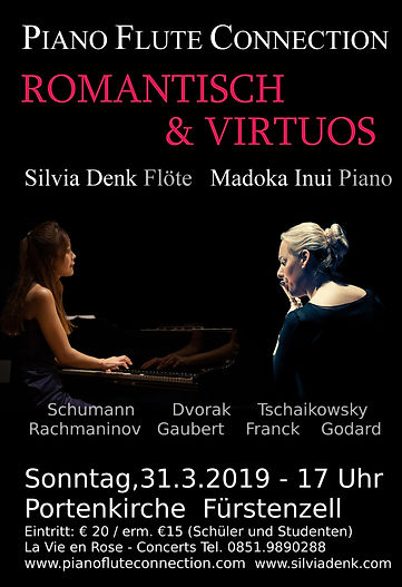 Romantisch & Virtuos Plakat A 1 titel pi