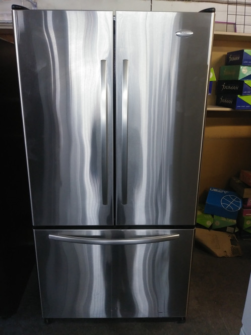 Stainless Steel Whirlpool Gold French Door Refrigerator