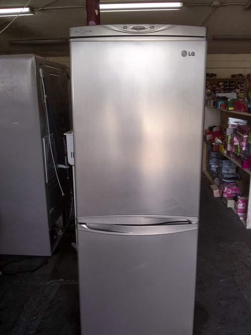 LG Stainless Steel Bottom Freezer Refrigerator - APARTMENT SIZE
