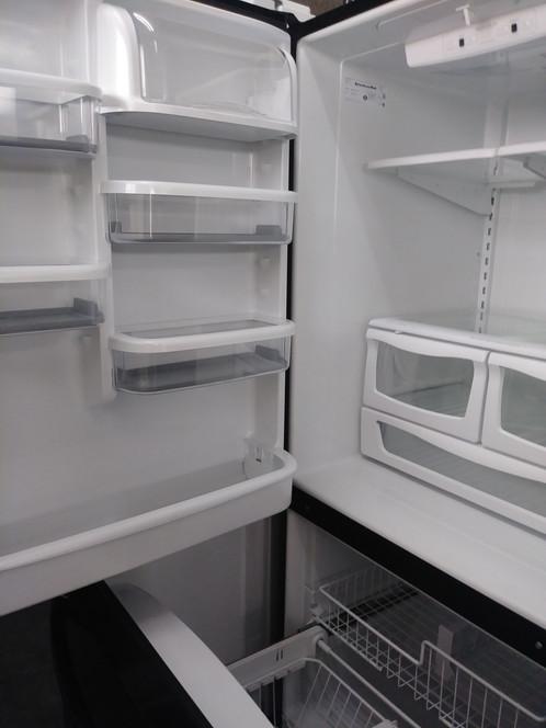 Kitchenaid Bottom Freezer 18 cu ft Apartment Size Refrigerator