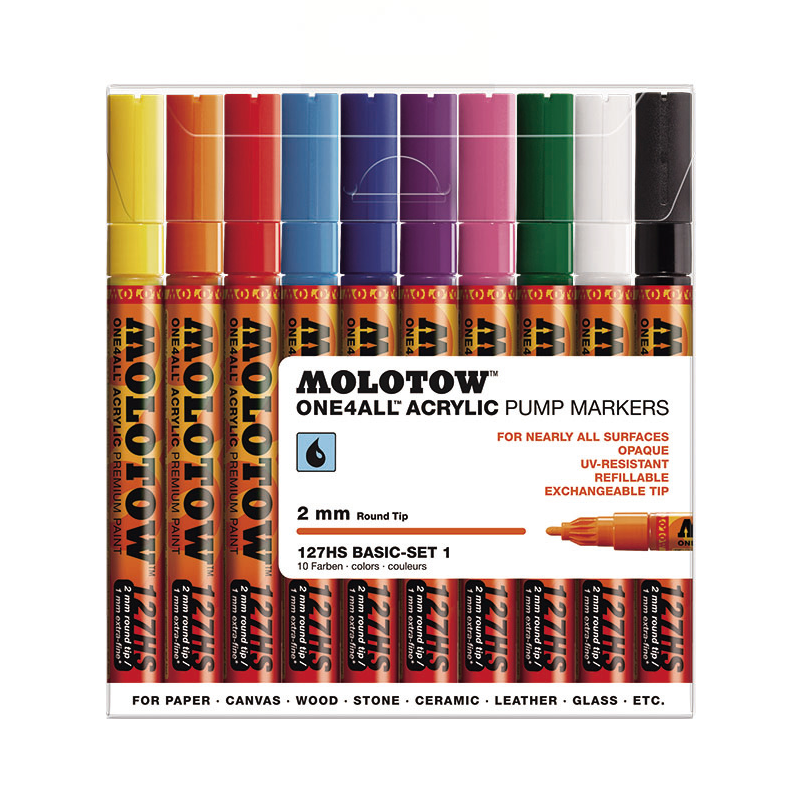 ONE4ALL-ACRYLIC-MARKER_127HS(2mm)-BASIC-SET-1(10color)