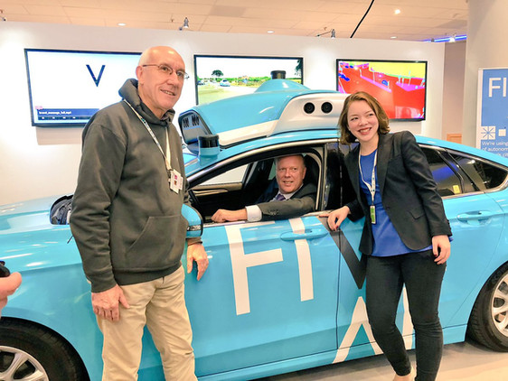 FiveAI creating an electric, shared, self-driving service with the potential to help cities to funct