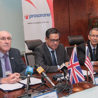 Press Conference, Kuala Lumpur