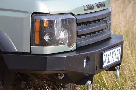 Front Bumper for the Discovery 2