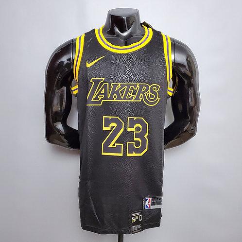 Regata Los Angeles Lakers Lebron James Mamba Negra 20/21