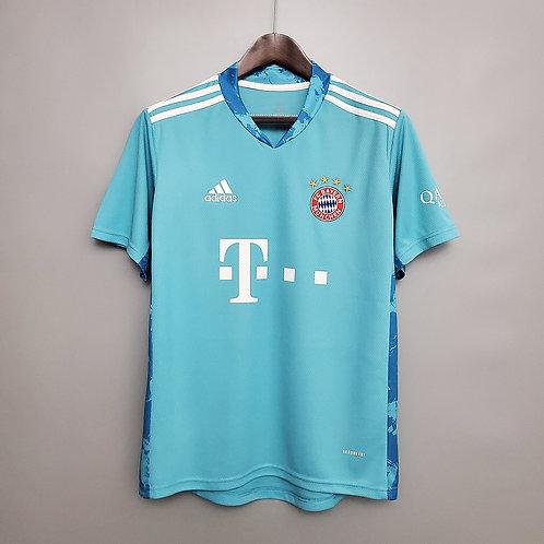 Camisa Goleiro Bayern de Munique 20/21 Adidas