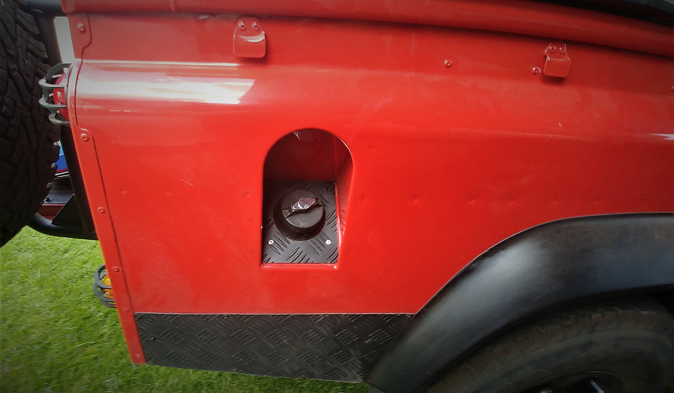 Fuel Cap Surround for Defenders (Pre-2007)