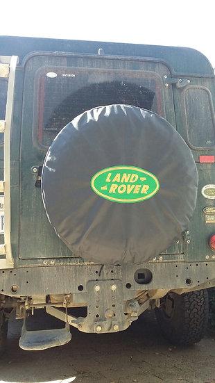 Custom Spare Wheel Cover - Ripstop Canvas