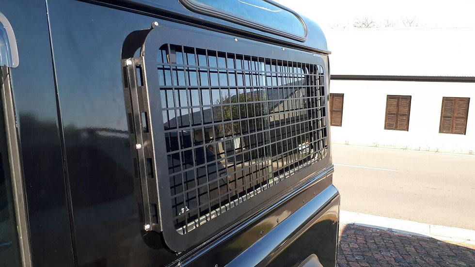 Side Window Cage for the Defender 90/110