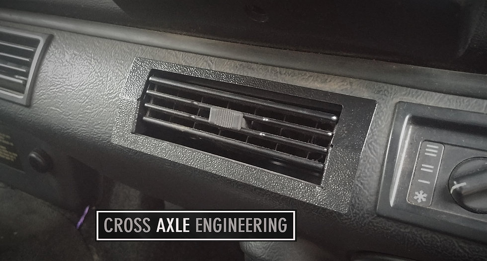 Aircon Vent Surround Replacement for the Defender Tdi/Td5