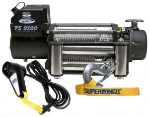 Superwinch Tiger Shark 9500lb 4x4 Winch - Steel Cable