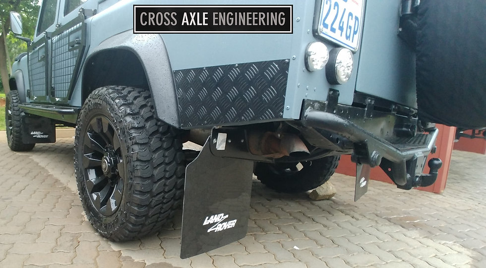 Rear Side Protector Set for the Defender 110