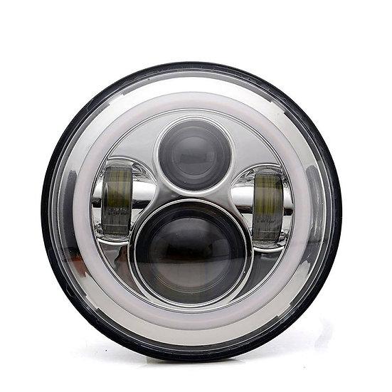 7Inch Halo LED Headlight Set